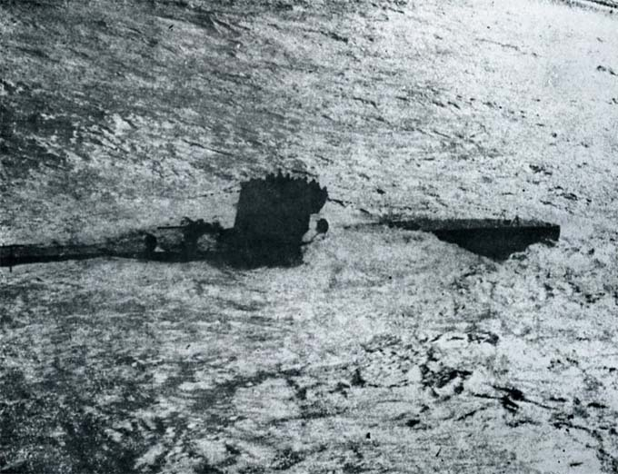 U-571 on the surface